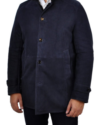 J.TOOR Trent Navy Sheep Shearling