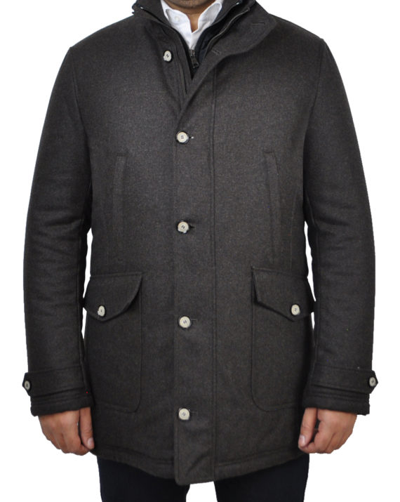 J.TOOR - DELF - Water Repellent Wool Insulated Winter Parka w/ Removable Gilet