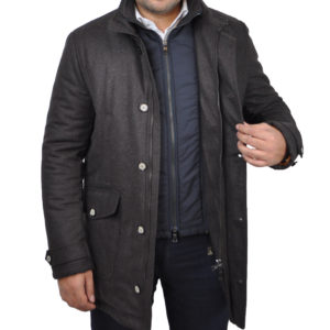 J.TOOR – DELF – Water Repellent Wool Insulated Winter Parka w/ Removable Gilet