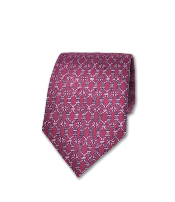 J.TOOR Neck Tie - Pink Links