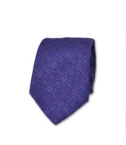 J.TOOR Neck Tie – Purple Self Paisley