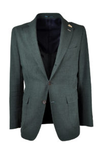 J.TOOR Tailored Unstructured Jacket – Loro Piana Linen/Wool – Green