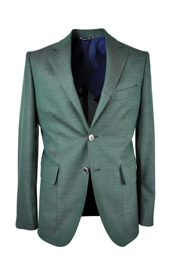 J.TOOR Tailored Sport Jacket - VBC - Green Hopsack