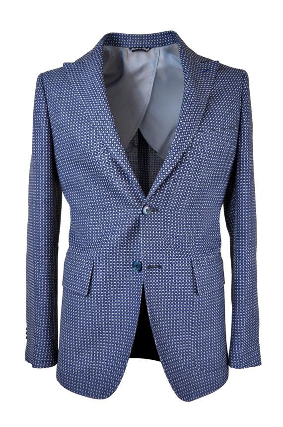 J.TOOR Tailored Sport Jacket - VBC - Blue Birdseye