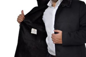 J.TOOR – TRISTAN – Water Repellent Wool/Cashmere Winter Coat w/ Beaver Fur Lining