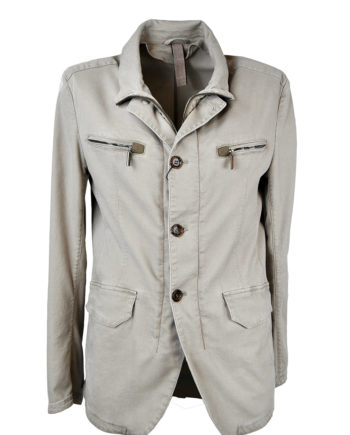 J. TOOR - Tessuto Canvas Garment-Washed Jacket 1