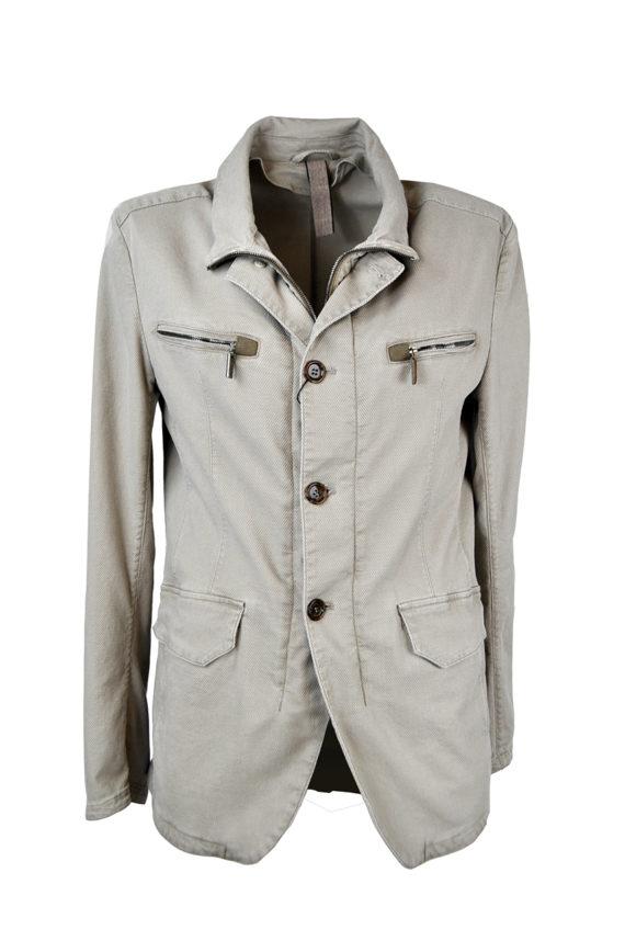 J. TOOR - Tessuto Canvas Garment-Washed Jacket 1