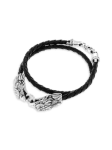 King Baby – Double Eagle Braided Leaher Bracelet 2