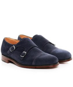 loake-Navy-Suede-Cannon-Double-Monk-Strap-Shoes