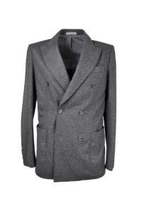 The One – Stretch DB Jacket, Grey Flannel