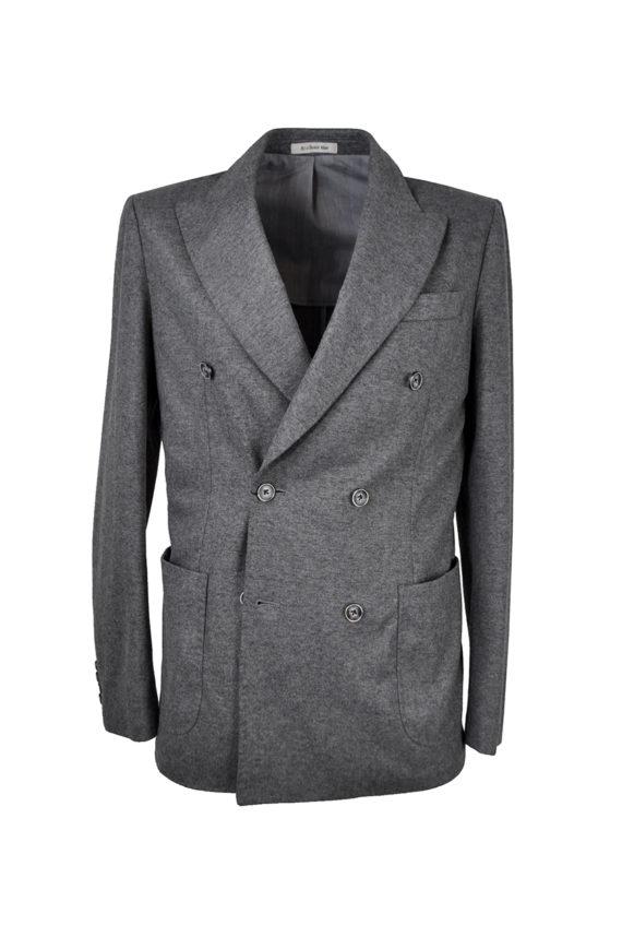 The One - Stretch DB Jacket, Grey Flannel