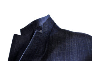 J.TOOR – Trent – Wool Unstructured Jacket – Navy Plaid