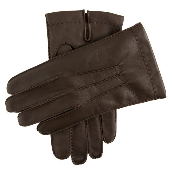Dents Men's Gloves - Pembroke - English Tan Hairsheep