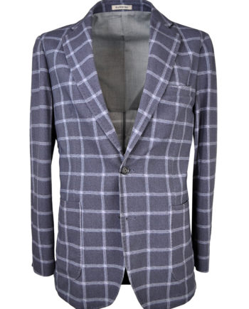 GENT by J.TOOR - Jacket - Craig - GreyBlue Windowpane 1