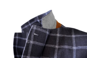 GENT by J.TOOR – Jacket – Craig – GreyBlue Windowpane 2
