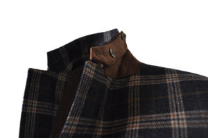 J.TOOR Tailored Sport Jacket – Holland & Sherry – Grey and Brown Check 2