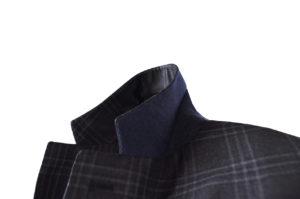 J.TOOR Tailored Sport Jacket – Reda Wool – Dark Grey Plaid 4