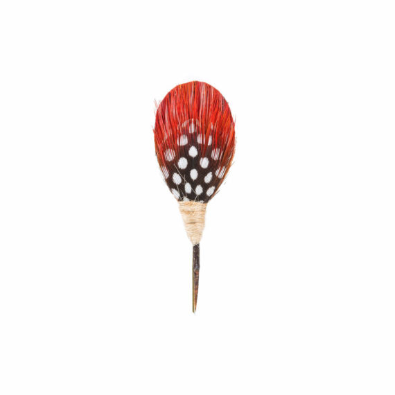 Plum Thicket Pin - Dax (Guinea, Pheasant) 2