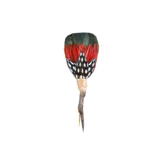 Plum Thicket Pin - Kelly (Guinea, Rooster, Pheasant) 2