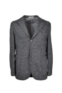 The One – Grey Stretch Donegal Jacket