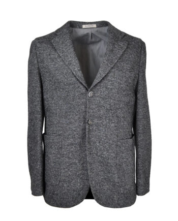 The One - Grey Stretch Donegal Jacket 1