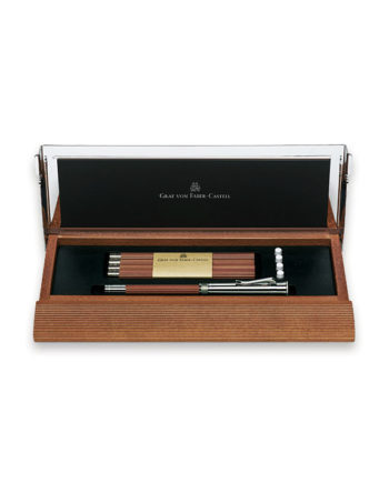 Graf von Faber Castell - Perfect Pencil Desk Set Brown Pencil - FC118517
