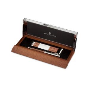 Graf von Faber Castell – Perfect Pencil Desk Set Brown Pencil – FC118517 2