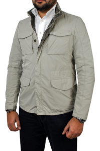 J. TOOR – Tessuto Reversible Jacket – Tan 1