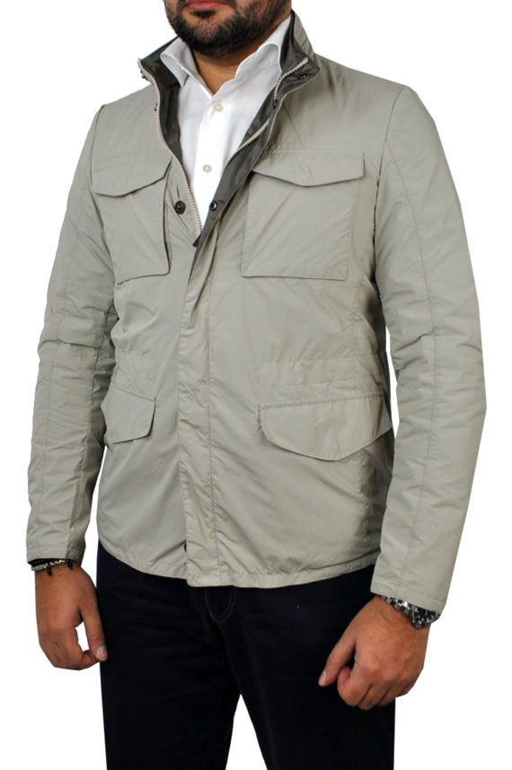 J. TOOR - Tessuto Reversible Jacket - Tan
