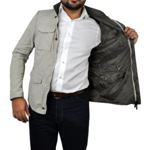 J. TOOR – Tessuto Reversible Jacket – Tan 3