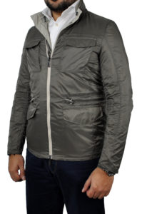 J. TOOR – Tessuto Reversible Jacket – Tan 4