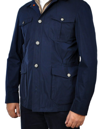 J.TOOR - ARI - Lightweight Field Jacket wRemovable Vest Insert - Navy