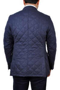 J.TOOR – DORIAN – Double Breasted Water Repellant Wool Quilted Jacket 2