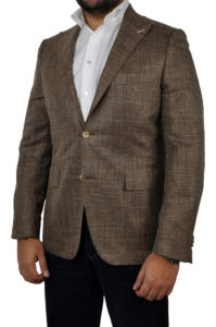 J.TOOR Tailored Sport Jacket – Loro Piana – Brown – WOSELI 1