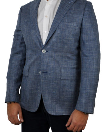 J.TOOR Tailored Sport Jacket - Loro Piana - Sky Blue - WOSELI
