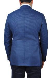 J.TOOR Tailored Sport Jacket – Reda – Blue Birdseye – Wool 2