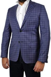 J.TOOR Tailored Sport Jacket – Reda – Purple Check 1