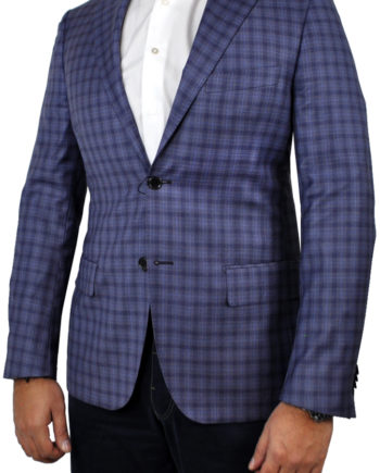 J.TOOR Tailored Sport Jacket - Reda - Purple Check 4