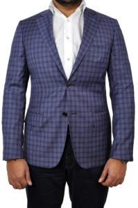 J.TOOR Tailored Sport Jacket – Reda – Purple Check 2