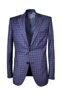 J.TOOR Tailored Sport Jacket – Reda – Purple Check 4