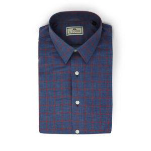 J.Shirt Blue Red Box