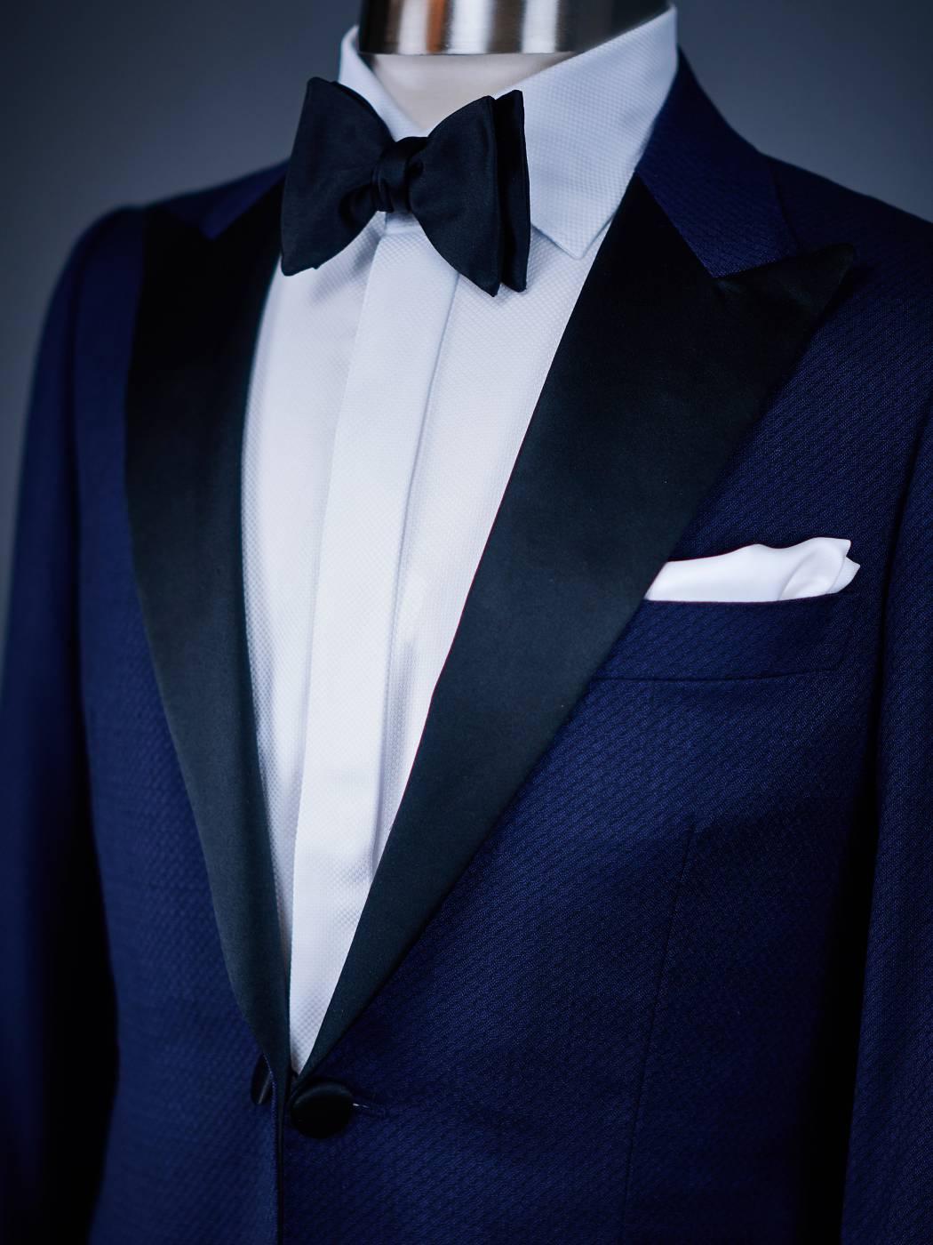 Blue Mans Tuxedo